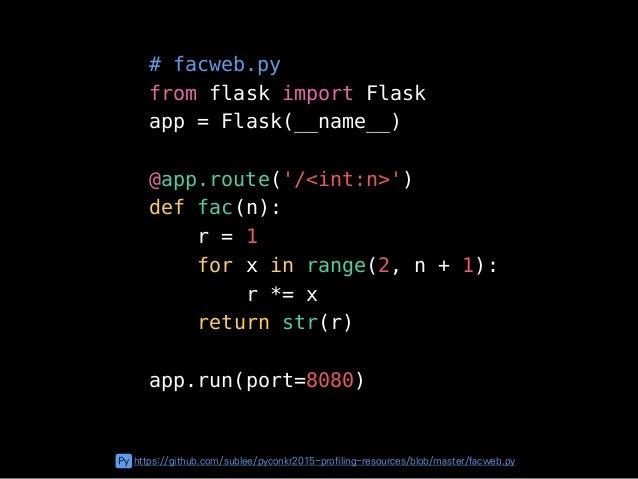 GIF https://github.com/sublee/pyconkr2015-profiling-resources/blob/master/remote.gif