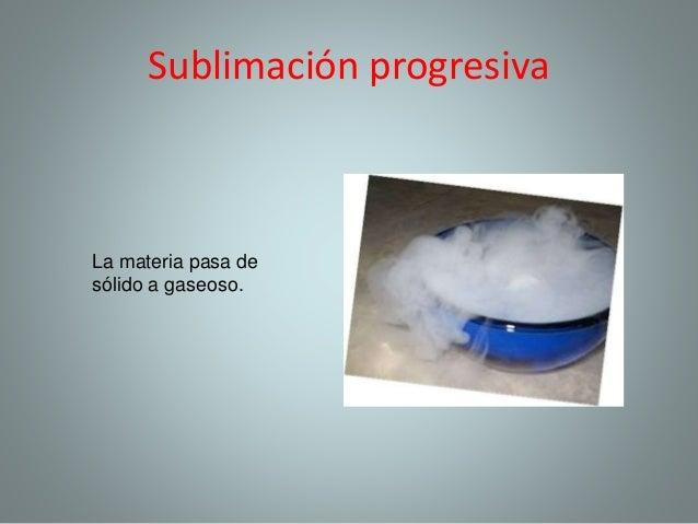 sublimaci n quimica