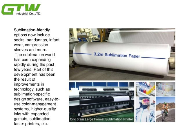Sublimation fashion trends with sublimation transfer paper & Slide 2
