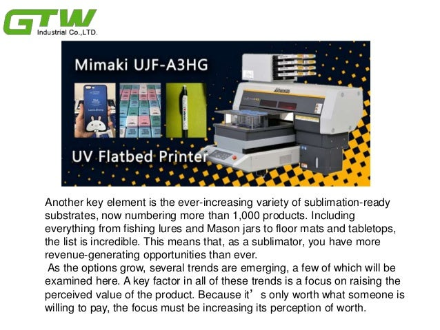 Sublimation fashion trends with sublimation transfer paper & Slide 3