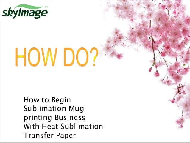 mug printing business plan