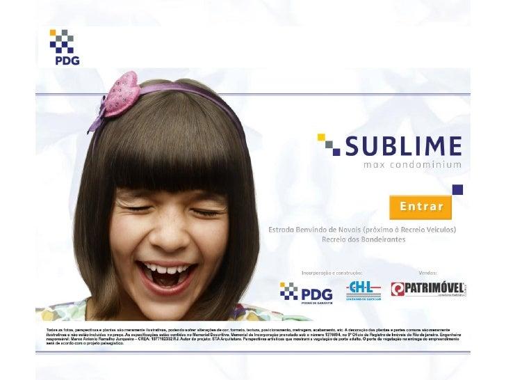 Sublime - Vendas em www-imoveisdorj-com-br ou (21) 3683-0700