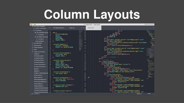 Column Layouts