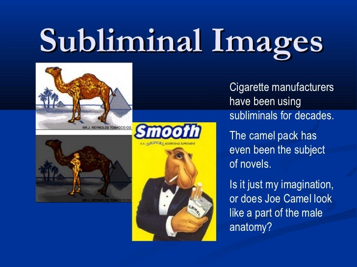 an analysis of the subliminal messages in marketing 7 sneaky subliminal messages hidden in ads by jake rossen we say don't really because subliminal messages can sway the already motivated, research shows.