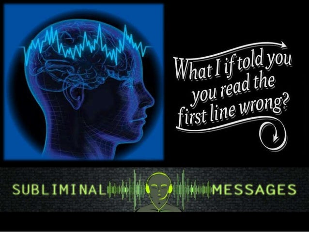 Subliminal message examples
