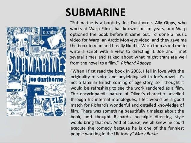 Submarine Joe Dunthorne Epub
