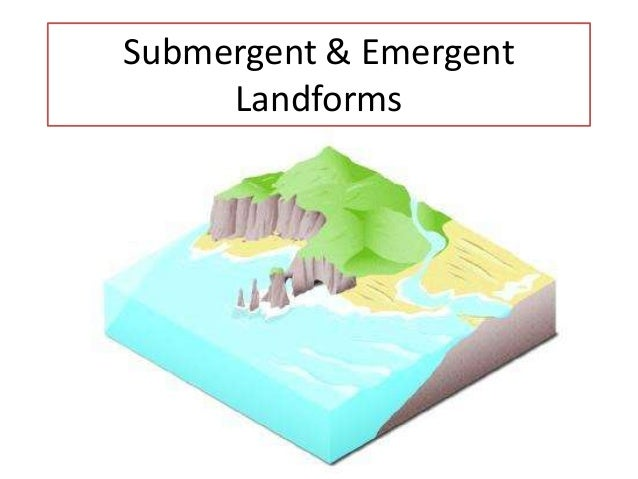 Submergent & Emergent Landforms