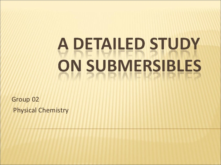 Group 02  Physical Chemistry