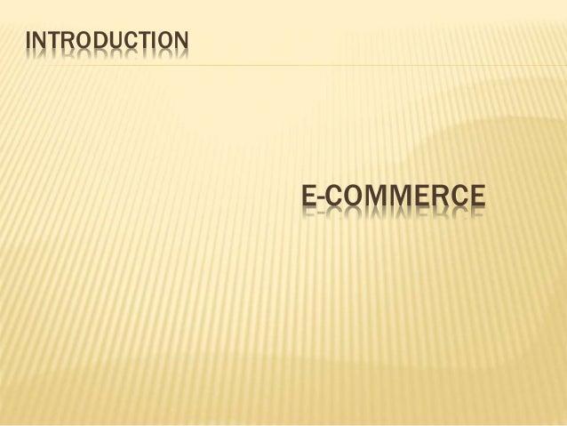 E-COMMERECE Slide 2