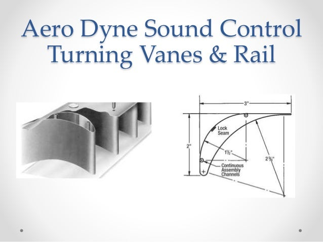 Hvac Turning Vanes And Rail System Submittal Form For