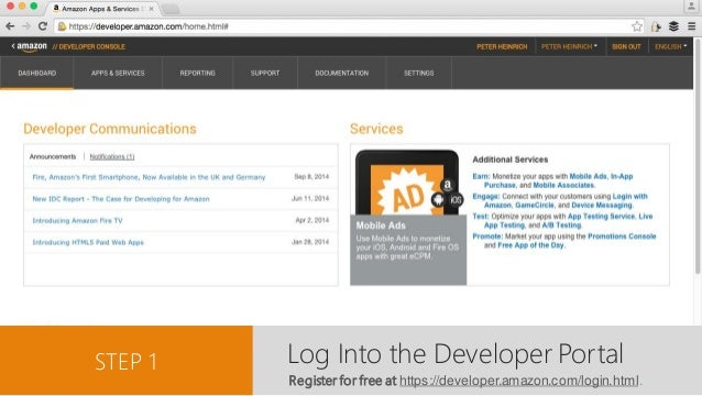 Submitting Apps and Games to the Amazon Appstore