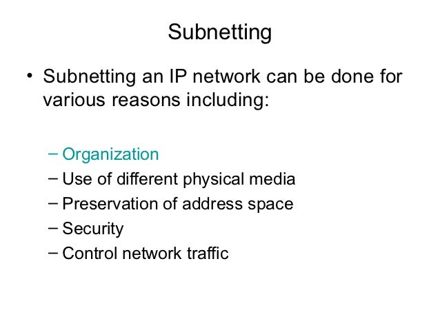 how to find a broadcast address in a subnetted ip