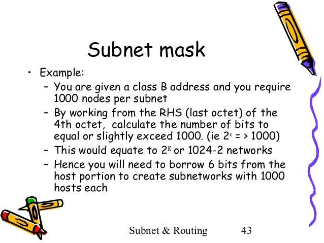 Subnetting examples image collections example of resume for student.