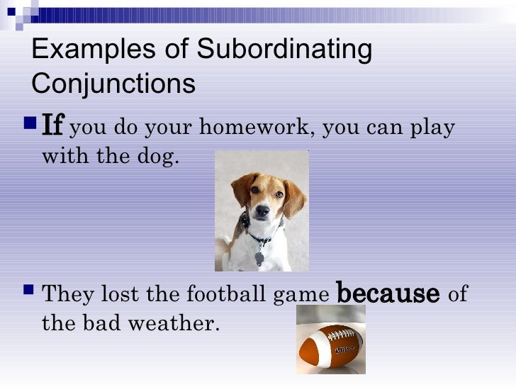 & Coordinating Conjunctions
