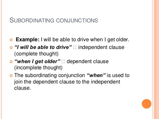 coordinating conjunctions essay The decision to begin with a coordinating conjunction (and, but, or, for, nor, yet,  so) should be made with care, but it should not be ruled out.