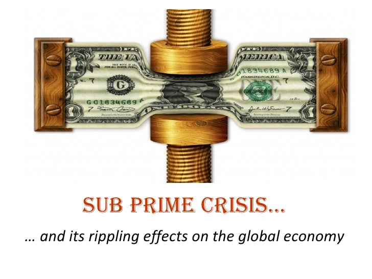 the sub prime mortgage crisis in usa Proponents of subprime lending maintain that the practice extends credit to people who would otherwise not have access  understanding the subprime mortgage crisis.
