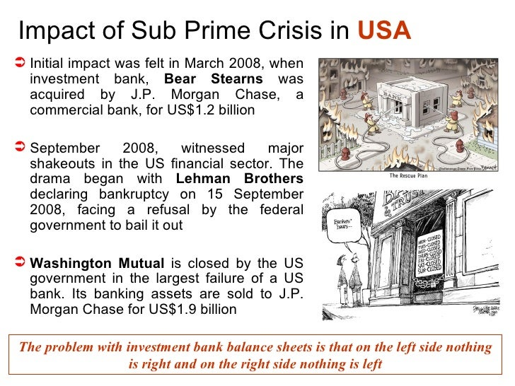 the causes of subprime mortgage financial Underlying causes and policy boom was further fueled by an explosion of subprime mortgage credit in the financial institutions with exposure to the us.