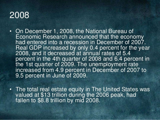 how the american dream and subprime loans contributed to the real estate crisis The united states housing bubble was a real estate bubble affecting over half of the us states  but mortgage markets, home builders, real estate,  warned in june 2007 that the subprime mortgage crisis was not an isolated event and would eventually take a toll on the economy and ultimately have an impact in the form of impaired home.