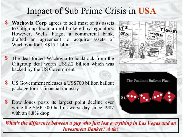 the sub prime crisis essay Research paper sub prime crisis in us emergence impact and lessons the researchers find that the  subprime mortgage crisis essay where to.
