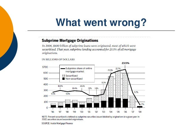sub prime mortgage crisis what caused The us sub-prime mortgage crisis has led to plunging property prices, a  slowdown in the us economy, and billions in losses by banks it stems.