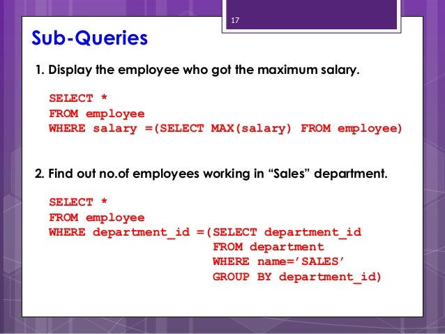 Write query to find the employees with top 5 salaries ?
