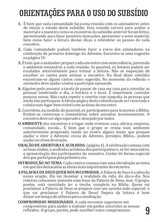 ORIENTAÇÕES PARA O USO DO SUBSÍDIO 1. Ébomquecadacomunidadefaçaumareuniãocomosanimadoresantes deiniciaroes...