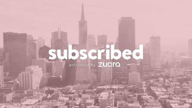 WELCOME TO SUBSCRIBED 2017!