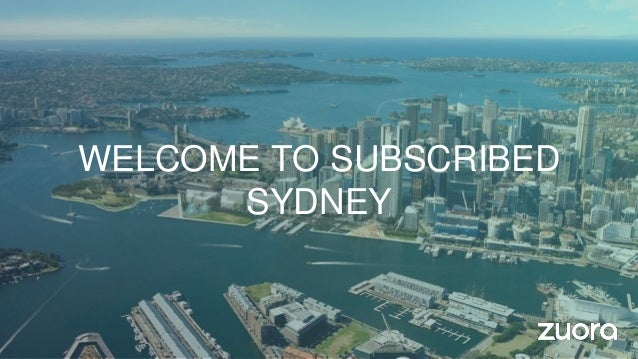 WELCOME TO SUBSCRIBED SYDNEY