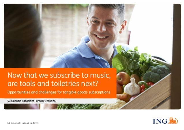 Now that we subscribe to music, are tools and toiletries next? Opportunities and challenges for tangible goods subscriptio...