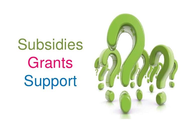 SubsidiesGrantsSupport<br />
