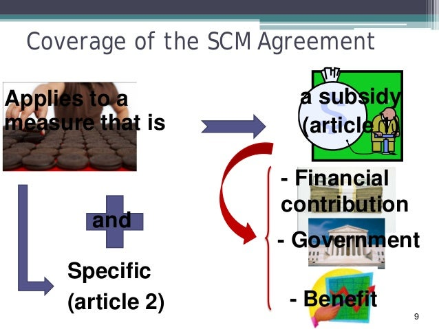 Wto Agreement On Subsidies And Countervailing Measures