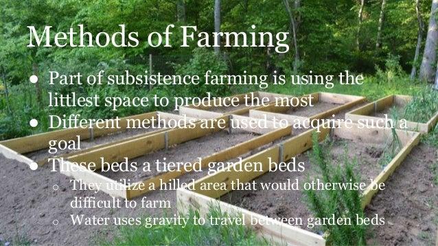 subsistence farming youtube
