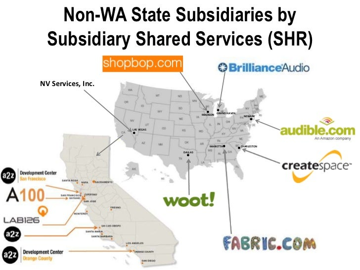 Amazon Subsidiaries