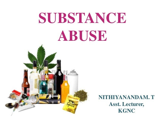 nurses and substance abuse essay Nurses role on substance abuse prepared & presented by philomina arnold @ nimhans, bnagalore.