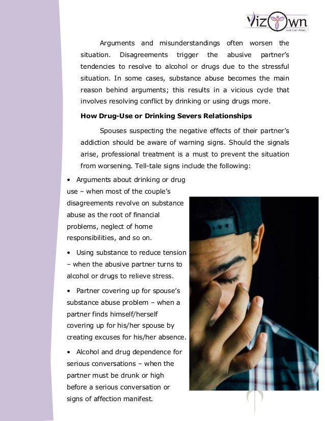 effects of dating a drug addict Drug addiction is not a hallmark of moral failure or lack of willpower—it's a complex disease that deserves long-term, extensive treatment.