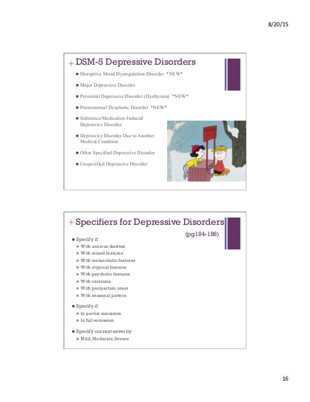 DSM-5: Substance Use Disorder, Schizophrenic, Bipolar, and ...