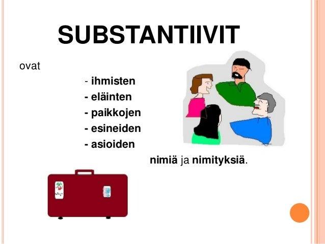 Substantiivit