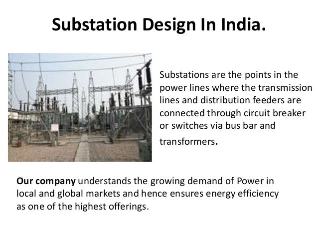 Substation Design in India