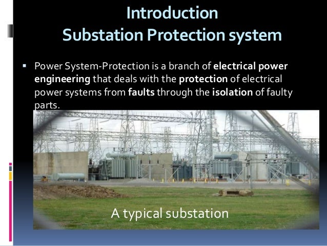 Substation protection devices