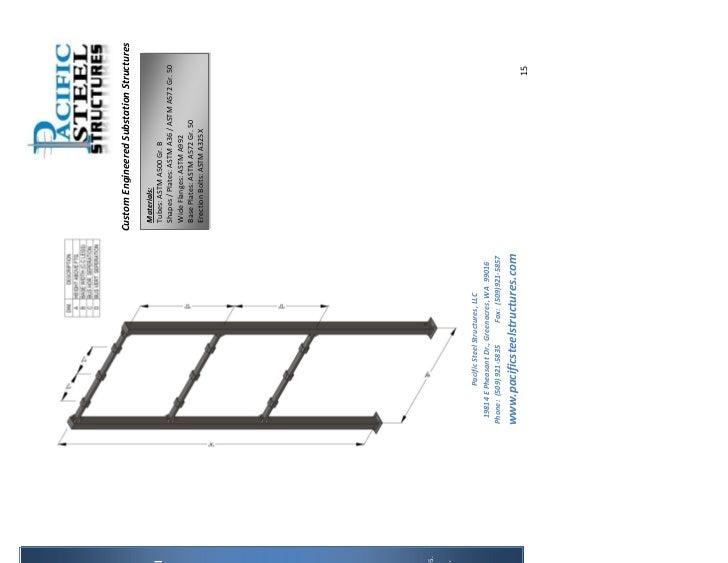substation structure catalog pdf rh slideshare net Design for Rural Substations Guide asce substation structure design guide 113