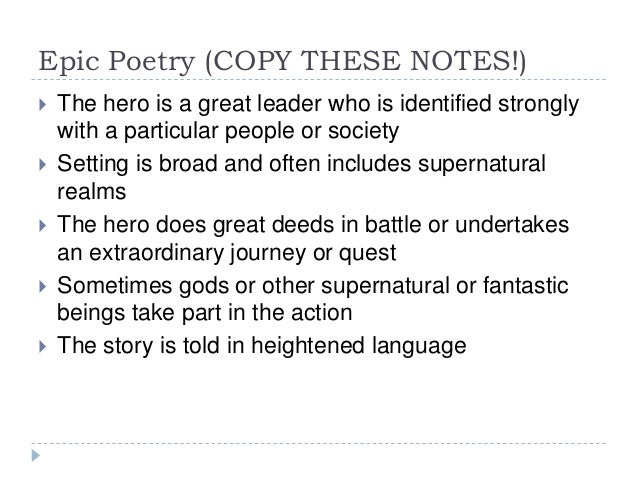 Poems About Heroes 1