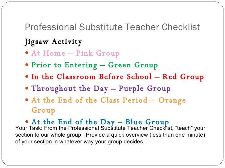 occasional teacher resume