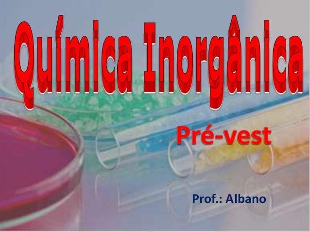 Prof.: Albano