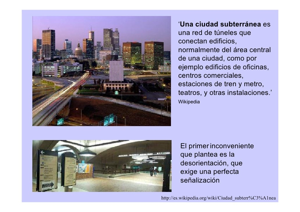 Arquitectura subterr nea topol gica - Espacios comerciales arquitectura ...