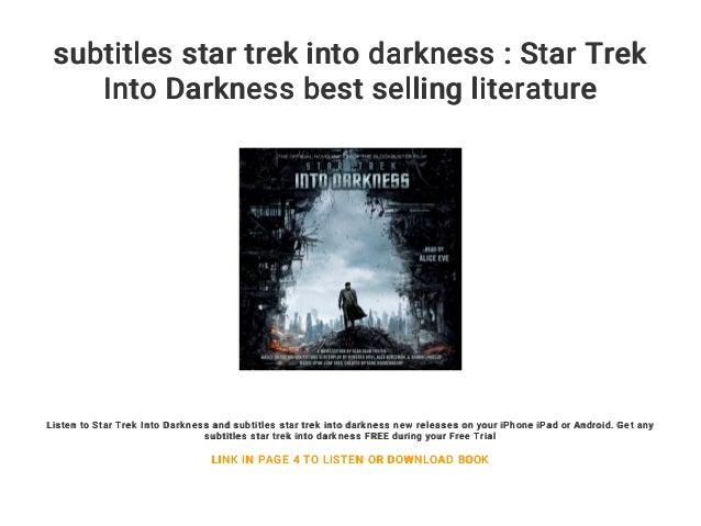 subtitles star trek into darkness : Star Trek Into Darkness