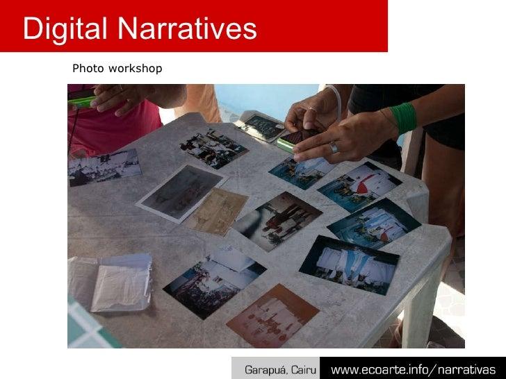 Digital Narratives Photo workshop