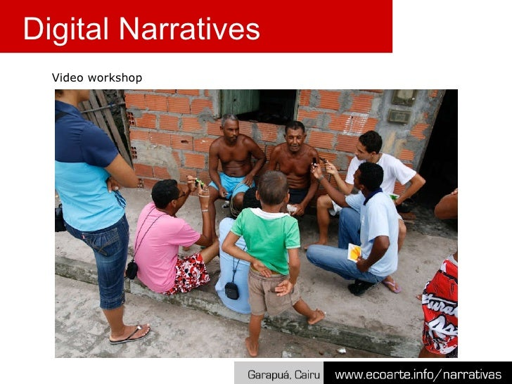 Video workshop Digital Narratives
