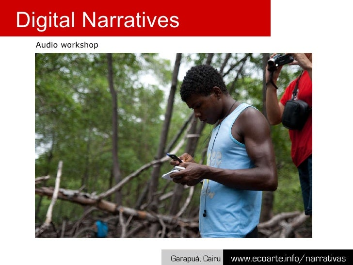 Audio workshop Digital Narratives