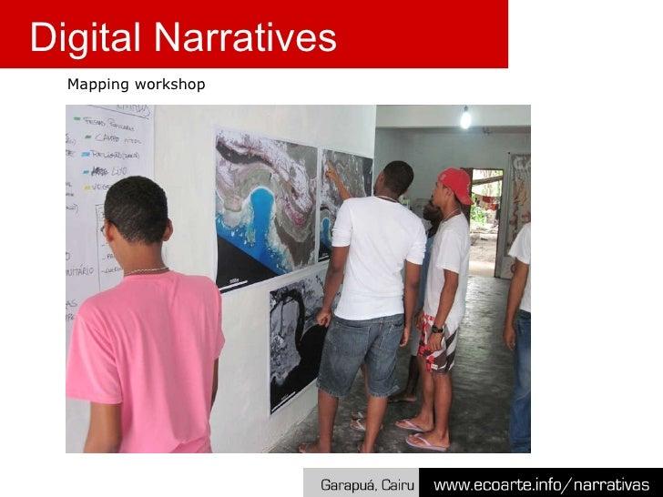Mapping workshop Digital Narratives
