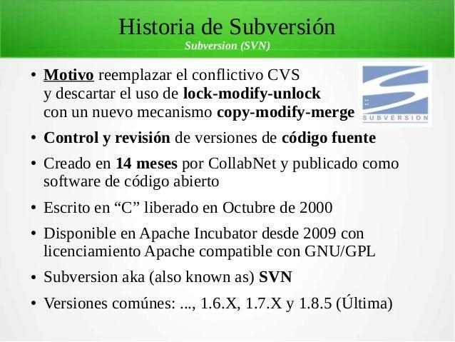 subversion v6